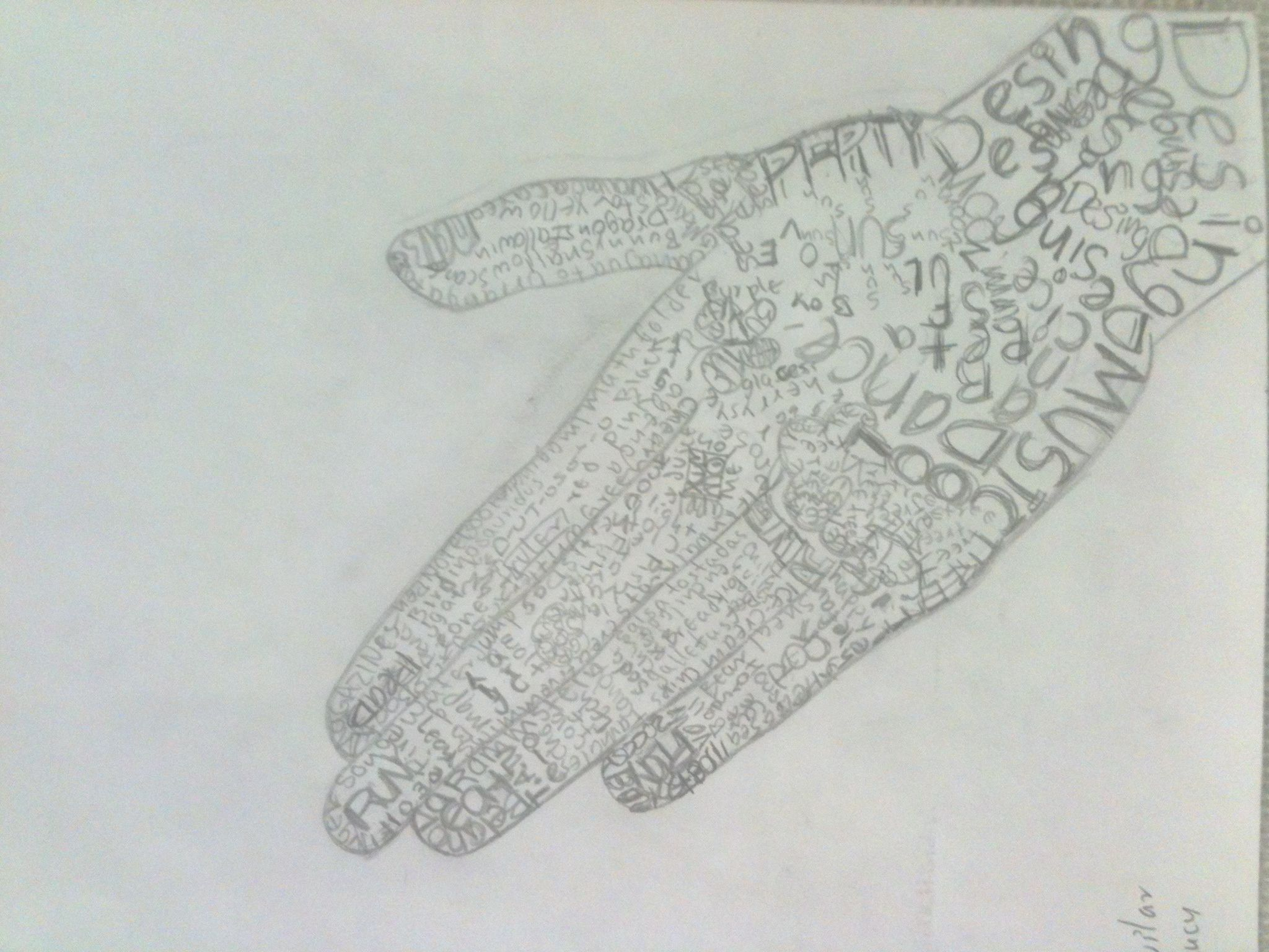 Drawing Lines In Word : Word hand drawing final version twenty first century art and