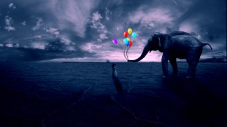 harmless__black_and_white___color_balloons__by_excruc1o-d5lk1l5