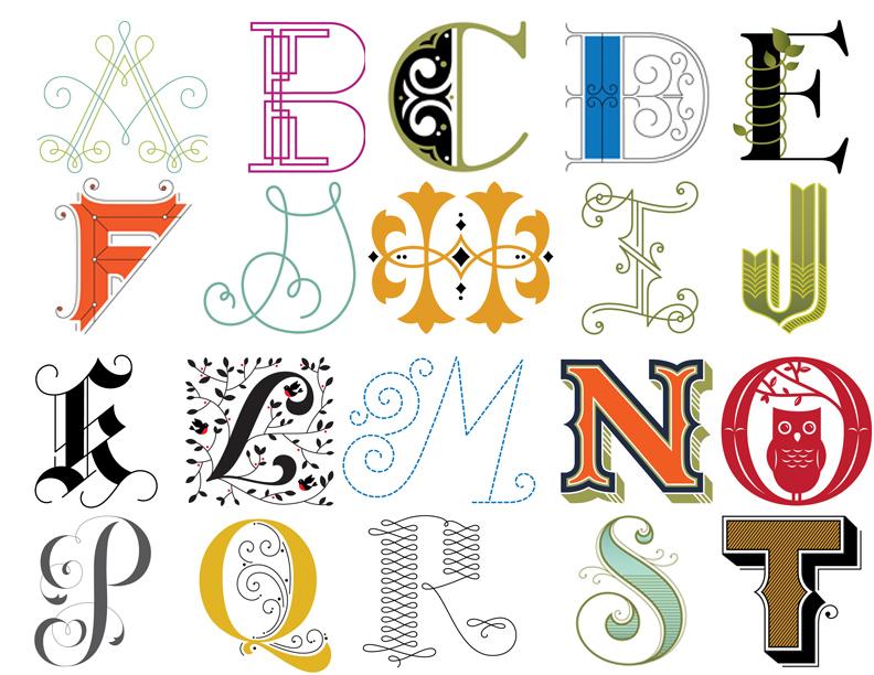 Typography Designing Your Own Alphabet Twenty First