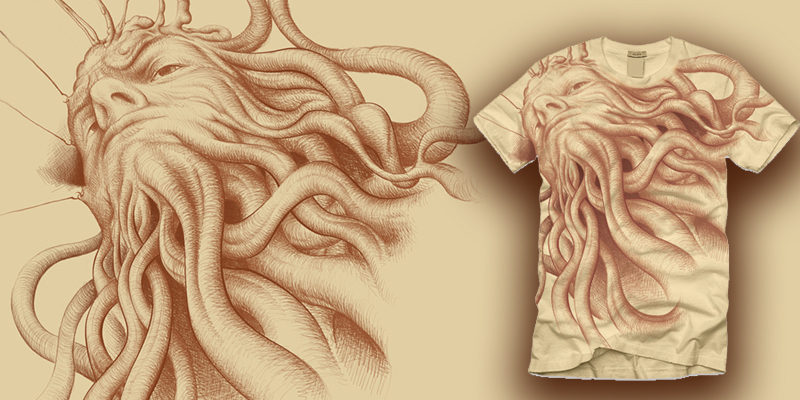 d09b255eec3 Tee-Shirt Design: using the Element of Shape   Twenty-First Century ...