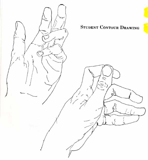 line drawings drawing your hands twenty first century art and design