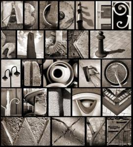 Found-alphabet